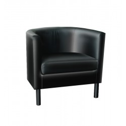 ARMCHAIR-DOMO LEATHER