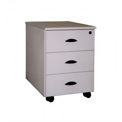CABINET-3 DRAWERS GREY