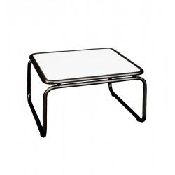 COFFEE TABLE 70X70+40 CM BLACK