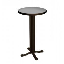 BAR TABLE-Ø60 CM GREY